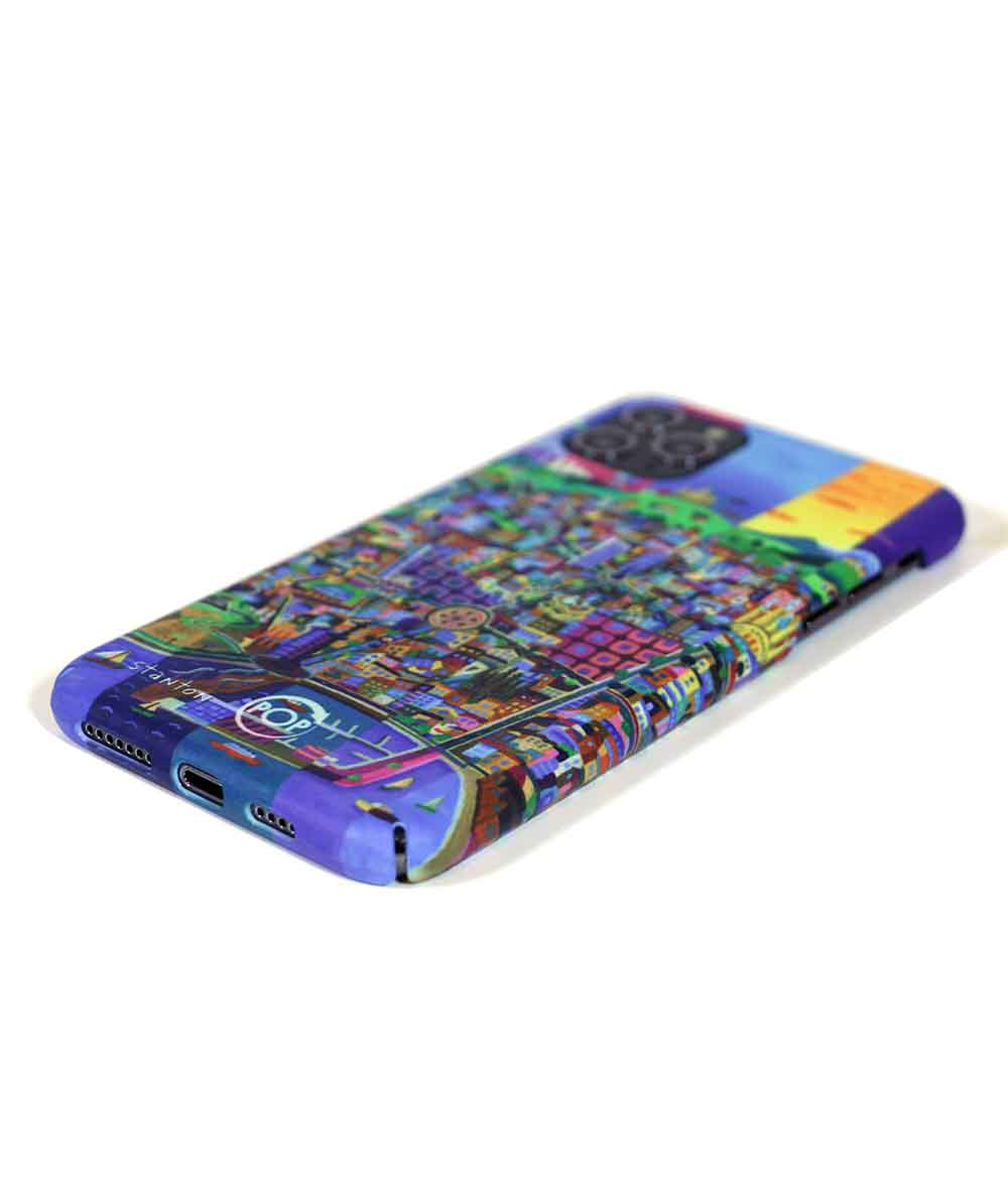 Eco friendly case with illustration