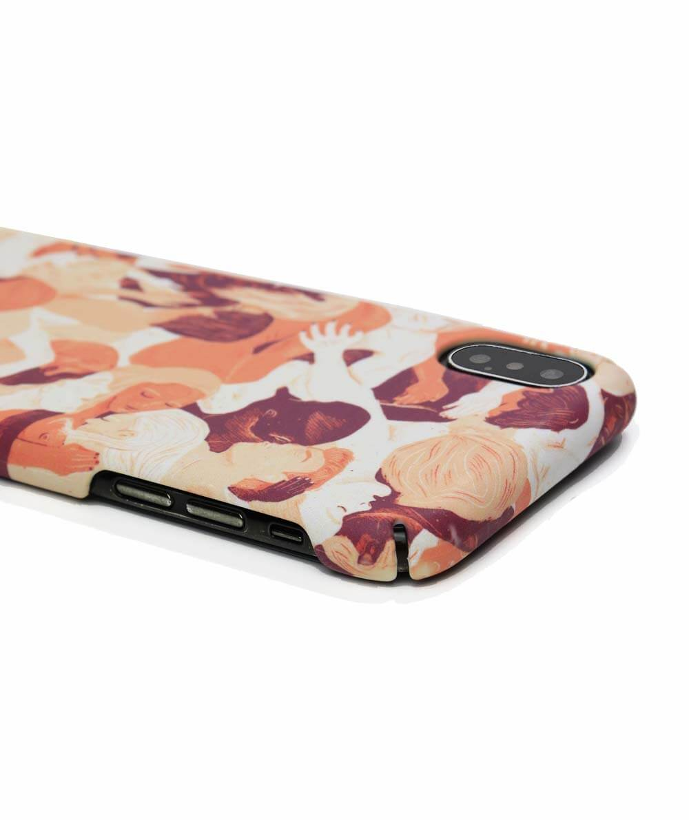 Eco friendly Iphone case with warm people