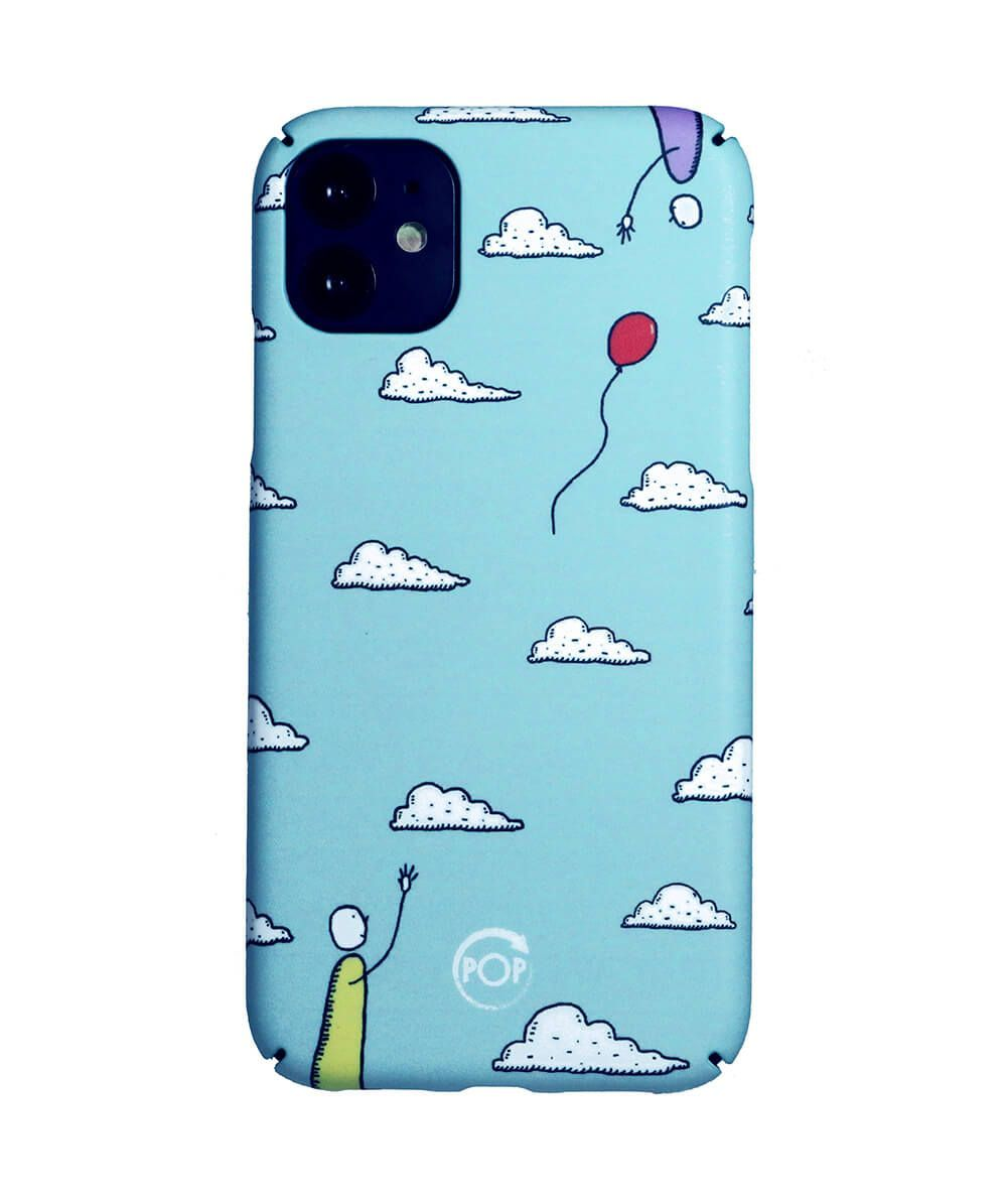 Iphone case with clouds