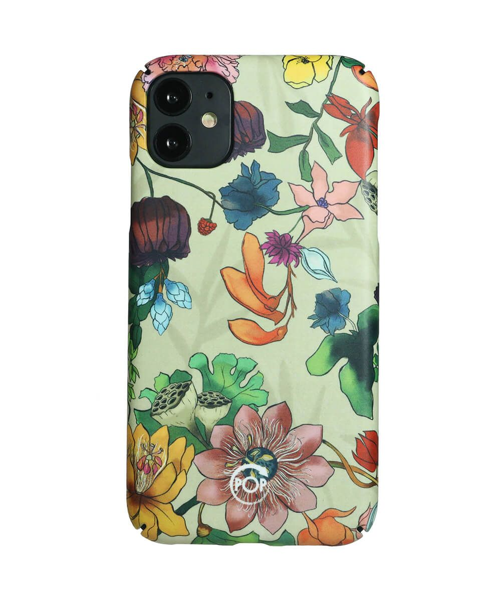 Eco friendly Iphone case with flowers