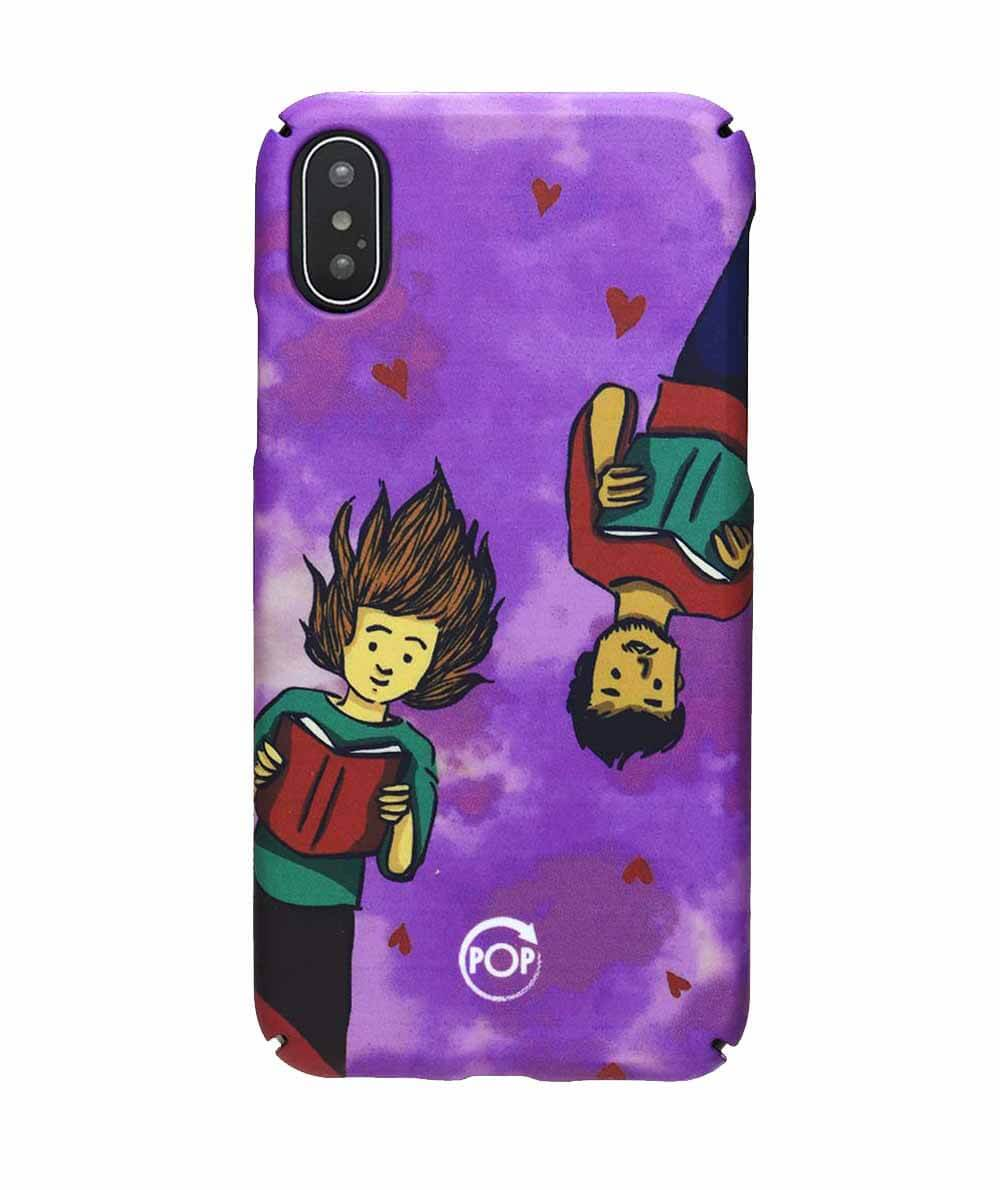 Eco friendly Iphone case with illustration