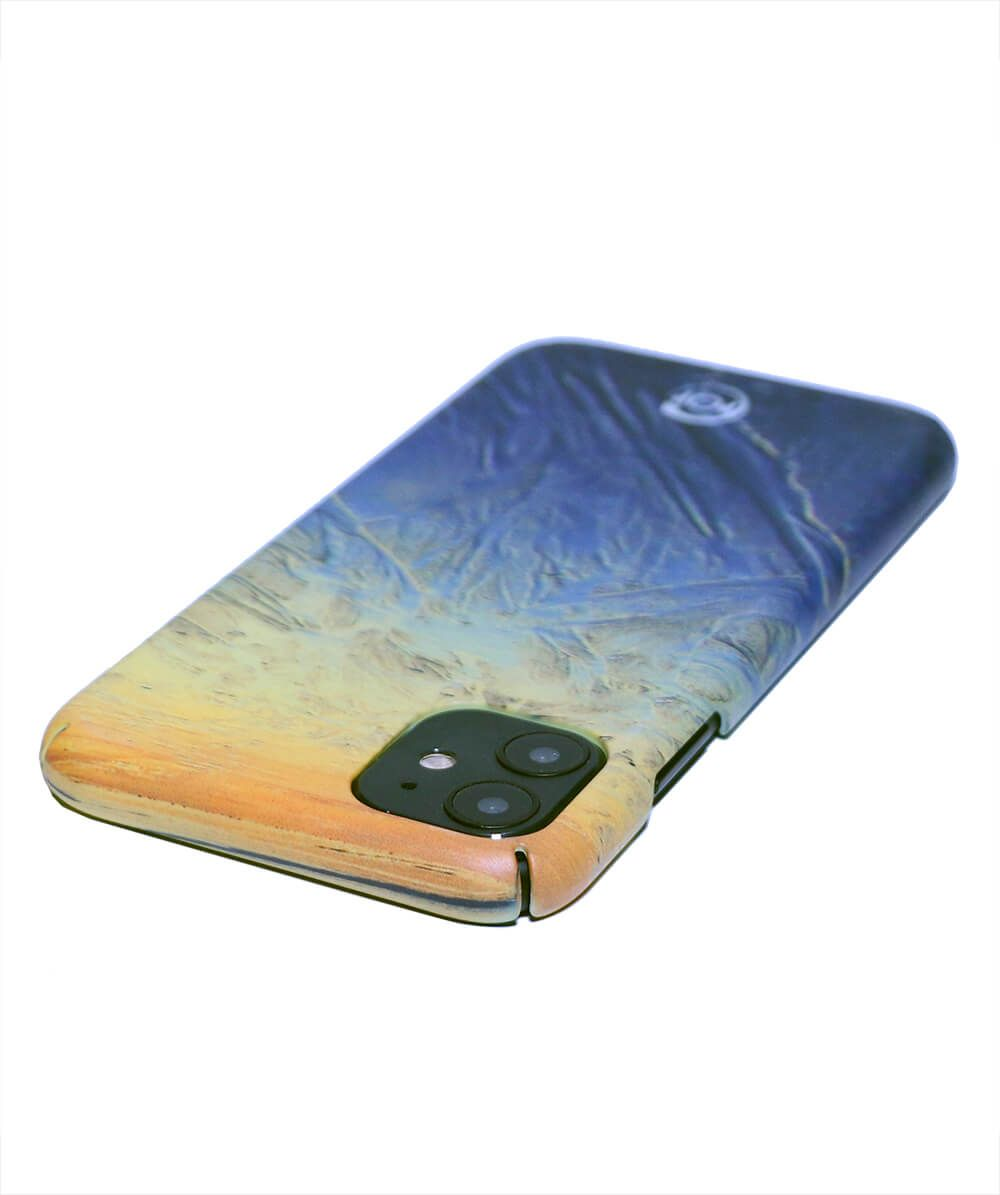 recycled iphone 11 case with a beach