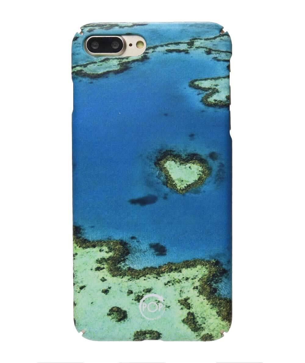 recycled iphone 7 case with corals